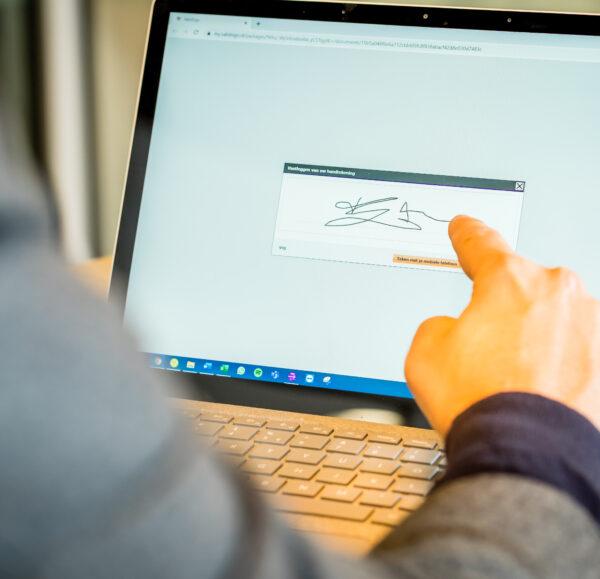 Digitaal ondertekenen